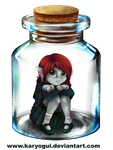 Bottle Meme+ Lake Pendragon by Karyogui