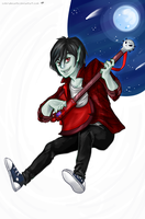 Adventure Time - Marshall Lee by Coloralecante