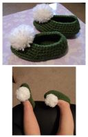 tinkerbell shoes by Brookette