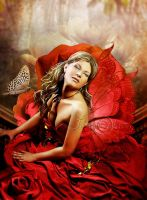 RED FAIRY by AngeliaArt