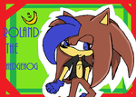 Roland the Hedgehog by neon-talon-claw