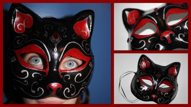 Masquerade Feline by GirlFromSeven11
