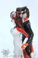 Scarlet and Will CakeTopper CM 2 by BlackHoleInAJar