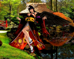 Nyo Tengu(Default) Dead or Alive 5 Ultimate by XKamsonX