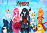 Adventure Time by mariyei
