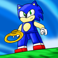 Sonic: The Lego Dimension by Xero-J