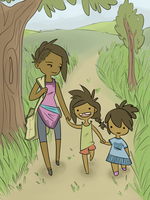 CotR: Family Walk by Aelwen