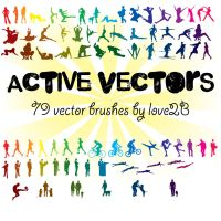 People Vector Brushes by Love2B