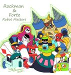 Rockman / Forte Robot Master by Ccamang