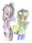 Willow and Hiko--Art Trade by AnaNini