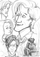 Eleventh Hour Sketches by louisesaunders