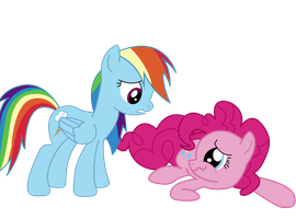 Pinkie, Are you okay? by PaulyVectors