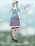 Cynthia Lumen [New OC Hella] by CelestialLucent