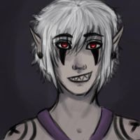 art trade for Deathly--Shadows by GabbyIsEvil