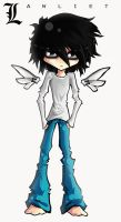 :-L for Lawliet-: by Arkeresia