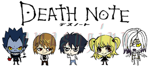 Death Note Chibis by amasugiru