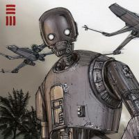 Rogue One - K2SO Sketch by Erik-Maell