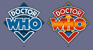 Doctor Who logo by ghigo1972