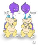 Twin Koopalings by BunearyK
