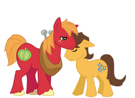 Big Macintosh n' Caramel by Sterling-Needle