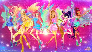 Winx Mythix !!! by lightshinebright