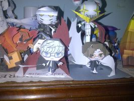 persona papercraft  colection by Grim-paper