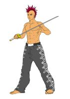 punk and sword by mumet