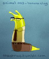 Daily Critter 003 of 365 Banana slug by jeff-aka-stray