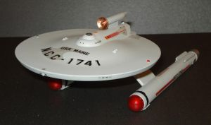 NCC-1741 USS Maine 1:1000 by dog42a