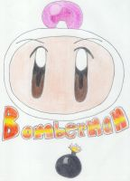 Bomberman Shirobom by Gubreez