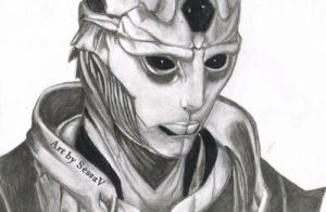 Thane Krios - Mass Effect by SessaV