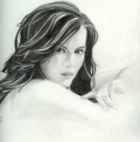 Kate Beckinsale by misterspudly