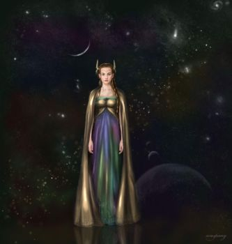 Concept - Sigyn of Asgard by waspany