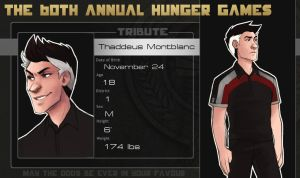 60th Hunger Games OCT: Thad by kaalashnikov