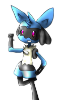 Lucario - I'm stronger than I look by Irrisichi