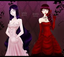 Corset Ladies by AShiori-chan
