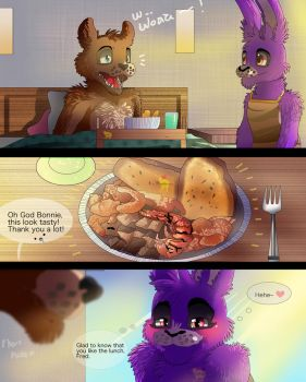 My way to show love and I love you  [ Fronnie ] by Aunty-chick