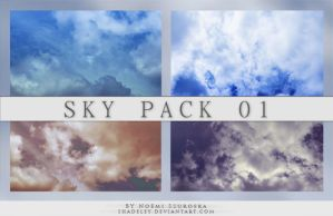 Sky Pack 01 by shadeley