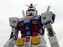 Gundam in Odaiba_4 by y-nrmt