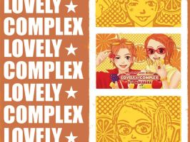Lovely Complex Wallpaper IV by tsarinelle