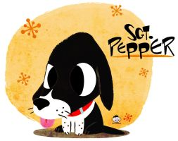 Sgt Pepper dog by brunancio
