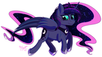 (Another) Princess Luna by Midnight6-6-6