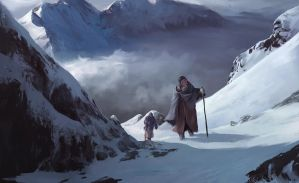 Mountain Pass by Thuberchs