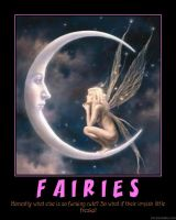Demotivator: Fairies by Yoda-Vaderworshipper