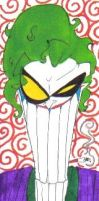 Joker Bookmark by SpiketheKlown