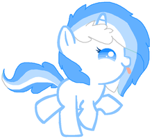 Melody as a foal by Ponyness1