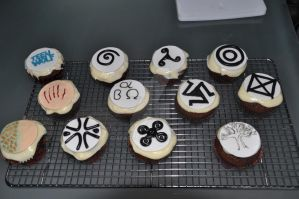 Teen Wolf cupcakes by CiaraCobb