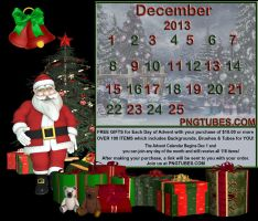 Pngtubes Advent 2013 by Twins72