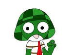 Keroro Gunso as El Chavo by SuperMarcosLucky96