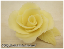 Marzipan Rose Practice by Candistache